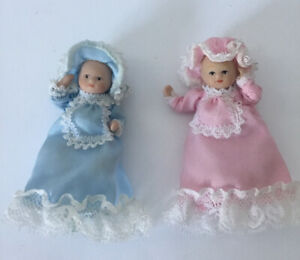 Two Dolls House Babies
