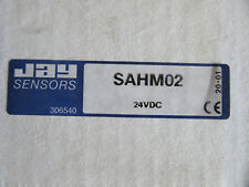 JAY Electronique SAHM02 Timing Relay SAHM With Manuals NEW!!! in Box
