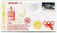 1972 Intelsat-4 Nixon's China Visit Sapporo Olympics Apollo-16 Cape Canaveral US