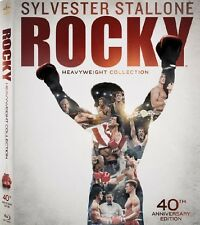 Rocky: Heavyweight Collection (Blu-ray Disc, 2014, 6-Disc Set) 40th Anniv Bonus