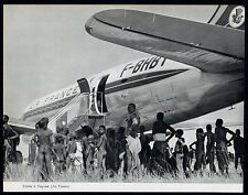 1957  --  CAMEROUN  ESCALE A YAGOUA  AIR FRANCE   3M319
