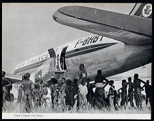 1957  --  CAMEROUN  ESCALE A YAGOUA  AIR FRANCE   3M319