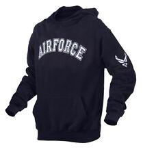 US Air Force Licensed BLUE Pullover HOODY USAF Hoodie Pull Over Sweatshirt