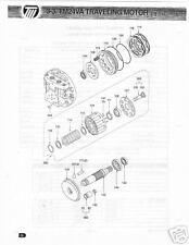 Kawasaki TM24VA Traveling Motor Bearing Roller