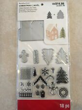 3D Decorate A House Stamp & Die Set  By Recollections 529185 CHRISTMAS 🎅🤶 NEW