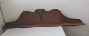 "1930s Vintage Dresser Top Decorative Piece Back Splash Art Deco 31"" Across"