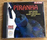 PIRANHA SPACE ADVENTURE PC DOS CD ROM GAME COMPLETE
