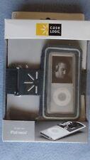 Case Logic iPod Nano Cover Case For Nano 4G 8GB and 16GB Gray with Armband NIB