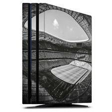 Sony Playstation 4 PS4 Pro Folie Aufkleber Skin Stadion FC Bayern Black White