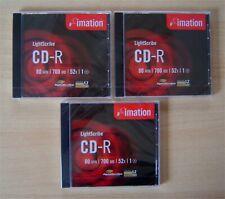 LightScribe CD Rohlinge | Gold | 52x | 80 min | 700 MB | CD-R | Markenware