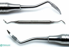 Dental Root Tip Pick Sharp End Elevators Double Ended Surgical Instruments