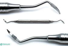 Dental Root Tip Pick Sharp End Elevators Double Ended Surgical Instruments