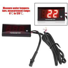 LCD Digital Motorcycle Water Temperature Gauge Thermometer For Racing Scooter