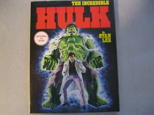 THE INCREDIBLE HULK by STAN LEE (1978, FIRESIDE) simon & schuster VG condition