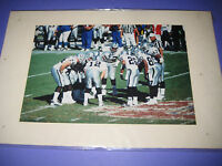 Color Photograph 4X6 Oakland Raiders Early 2000s