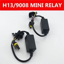 Easy Mini Relay Harness For Hi/Lo Bi-Xenon HID Kit H13/9008 Headlight Wiring