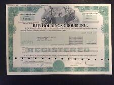 RJR  Holdings Group,Inc.