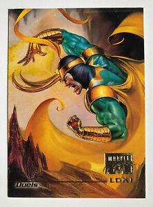 1996 Marvel Masterpieces #83, Loki (Fleer, Skybox) , Rare, HTF!!!