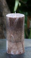 400hr 1.7kg Massive CEDAR WOOD & VANILLA Scented Natural CANDLE Tablescape GIFTS