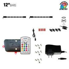 "Cyron LED RGB TV Accent Multicolor Lighting Kit Cabinet Lighting 2 x 12"" LED Bar"