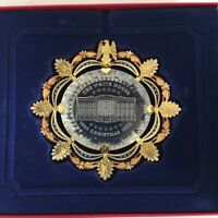 White House Historical Association Christmas Ornament 2002 - Crystal Chandeliers