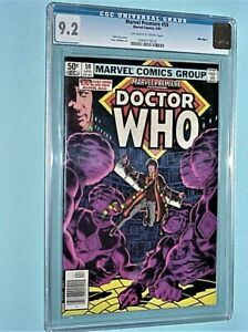 Marvel Premiere #59 DOCTOR WHO 4/81 PLANKED & GRADED 9.2 BY CGC MYLAR BAGGED