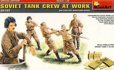 MiniArt Russ. Panzerbesatzung Soviet Tank Crew 1:35 Ammo Boxes Munition T-35 kit