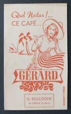 Buvard Quel nectar ce café GERARD LA CAPELLE Pas-de-Calais 2
