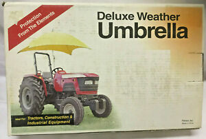 DELUXE TRACTOR WEATHER UMBRELLA REPLACEMENT COVER ONLY TU-56 FEMCO INC NO FRAME