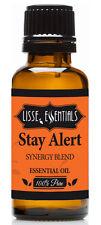 Lisse Essentials Stay Alert Essential Oil, 100% Pure Therapeutic Grade 30 ml
