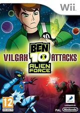 Ben 10 Alien Force: Vilgax Attacks (Wii) Wii PAL Brand New