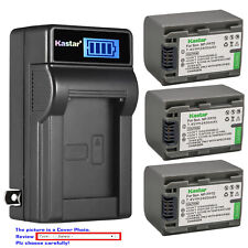Kastar Battery LCD Wall Charger for Sony NP-FP70 NP-FP71 Sony DCR-HC21 DCR-HC22
