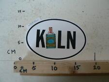 STICKER,DECAL 4711 KOLN ? COUNTRY STICKER