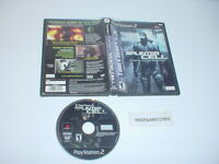 Original SPLINTER CELL game only in case for Playstation 2 PS2
