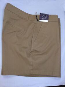Women's Ava & Viv Khaki Tan Shorts Size 20W, 22W, 24W, 26W NWT