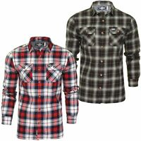 Superdry Mens Check Shirt 'Classic Lumberjack Shirt' - Long Sleeved
