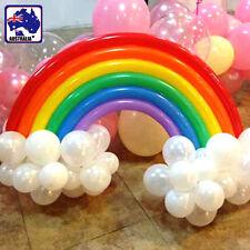 200pcs Rainbow Balloon Magic Long Balloons Wedding Animal Tying GBALL2023 x200
