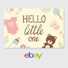 eBay Digital Gift Card - Congrats Hello Little One -  email delivery