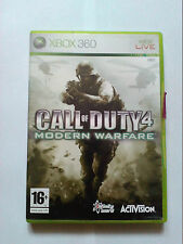 Call of Duty 4 Modern Warfare Xbox 360 game