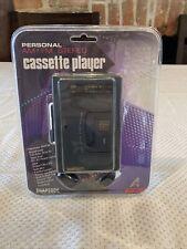 New Vintage Rhapsody AM/FM Cassette player Model RY-900 With Headphones Retro G1