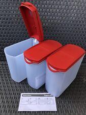 Tupperware 3x Eidgenossen-Plus-Set Vorratsbehälter Vorratshelfer Behälter Neu