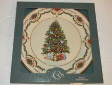 "Lenox Russia 1996 Christmas Trees Around The World Plate G705 10.75"" dia"