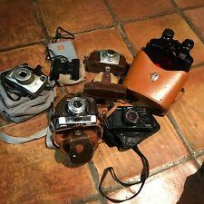 Job lot of 4 cameras and 2 binoculars