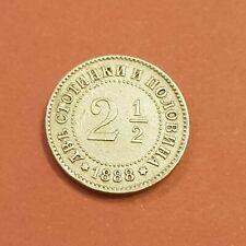 2 1/2 stotinki 1888. XF+