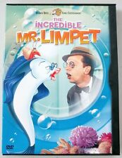The Incredible Mr. Limpet - Snapcase DVD - Knotts, Cook, Duggan, Weston, Keating