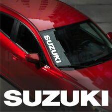 Suzuki WINDSHIELD CAR Premium STICKER vinyl decal #1  Swift SX4 Grand Vitara