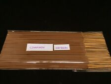 Cinnamon Incense Stick Hand Dipped with Natural Essential Oils ( 100sticks )