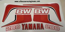YAMAHA BW 200 1985 BIG WHEEL DECAL KIT DIGITAL PRINT STICKERS KIT ADESIVI