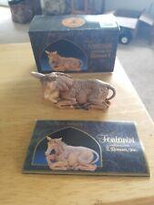 Fontanini Heirloom Nativity by Roman 5� The Donkey 52533 w/ Box and Card
