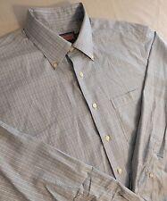 Vineyard Vines Men's Murray Shirt Size Large (L) Button Front Plaid Blue
